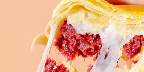 """【精选好物·元旦狂欢】有颜有""""内涵"""",鲜花饼这样吃才够味儿!49元/2盒抢活动价79.8元【花木子鲜花饼】礼盒!雪媚娘加持,咬一口软糯带着玫瑰的香气!"""
